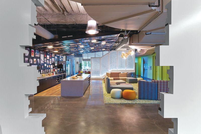 excellent google office amenities  kitchen  interior decor