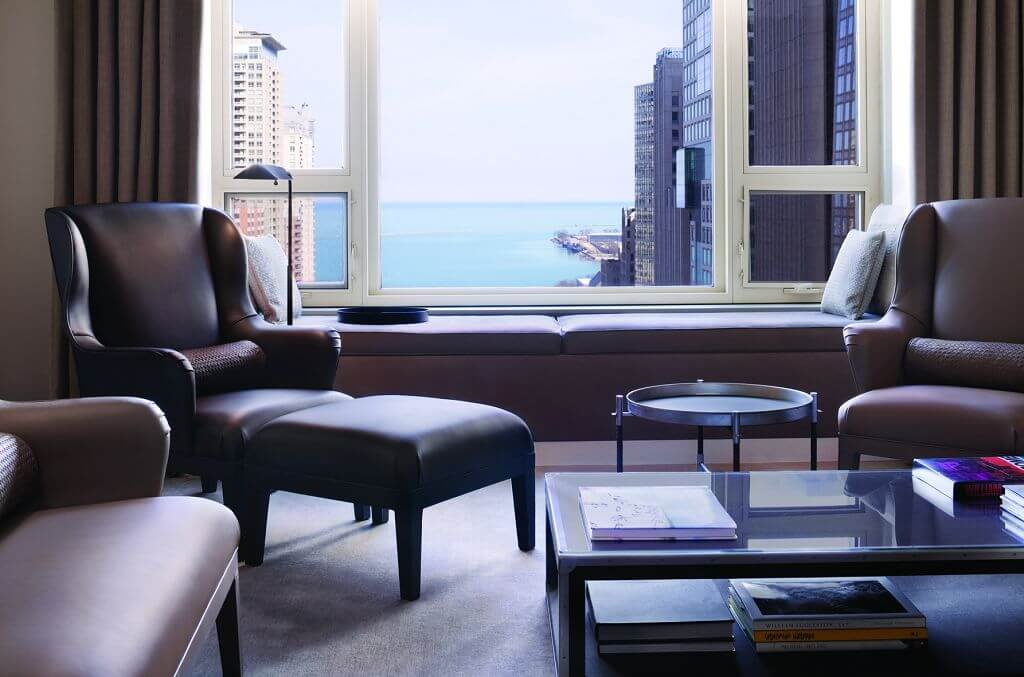 bottega veneta park hyatt chicago living room view high