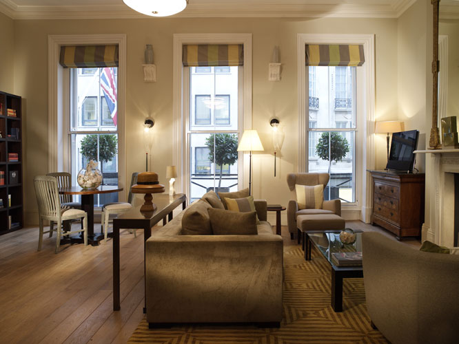 Brown's Hotel London – Hellenic Suite Sitting Room Royal Suite 2812