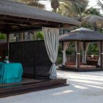 madinat jumeirah talise spa beach cabana