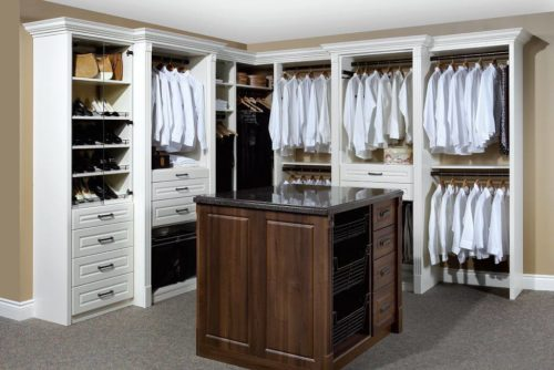 awesome white polished open wardrobe design with brown square pertaining to dresser closet dresser closet